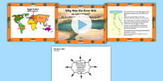 Ancient Egypt Why Was the River Nile So Important? PowerPoint and Worksheets Romanian Translation