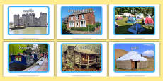 Homes and Shelters Display Photos