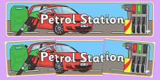 Petrol Station Display Banner