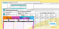 PlanIt - Art KS1 - Colour Chaos Unit Assessment Pack