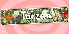 Tarzan Display Banner