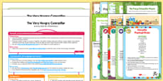 Childminder EYFS Activity Web and Resource Pack to Support Teaching on The Very Hungry Caterpillar