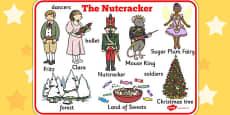 The Nutcracker Word Mat