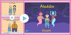 Aladdin Story PowerPoint EAL Romanian Translation