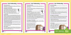 * NEW * Ash Wednesday Differentiated Fact File