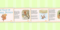 The Tale of Squirrel Nutkin Story Cards (Beatrix Potter)