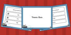 The Titanic PowerPoint Quiz
