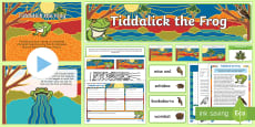 Tiddalick the Frog Activity Pack