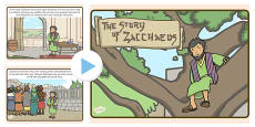 Zacchaeus the Tax Collector Bible Story PowerPoint