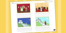 Cinderella Storyboard Template