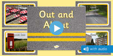 Out and About Audio Flashcards