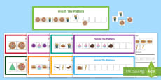 Workstation Food Sequences Activity Pack