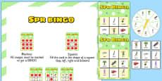 SPR Spinner Bingo