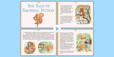 The Tale of Squirrel Nutkin PowerPoint (Beatrix Potter)