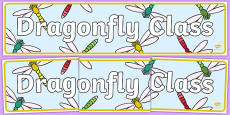 Dragonfly Class Display Banner