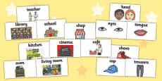 EAL Sentence Building Stickers