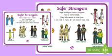 Safer Strangers Display Poster