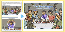 The Last Supper Story PowerPoint Polish Translation