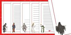 A Christmas Carol Page Borders