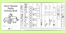 Farm Themed KS1 Maths Activity Book