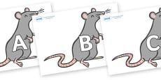 A-Z Alphabet on Rats