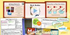 PlanIt - Art - KS1 Colour Chaos Lesson 2: Rothko Lesson Pack