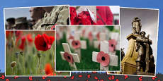 Remembrance Day Photo Clip Art Pack