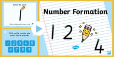 Number Formation PowerPoint