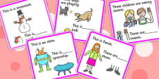 His, Her, Their And Its Fill In The Pronoun Cards