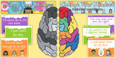 Developing Growth Mindset Display Pack Romanian Translation
