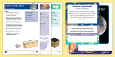 EYFS Space Science Experiments Resource Pack