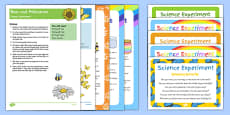 EYFS Summer Themed Science Experiments Resource Pack
