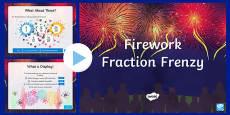 Year 4 Firework Fraction Frenzy PowerPoint