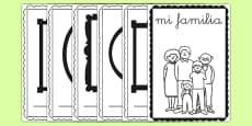 Cuadernillo - Mi familia