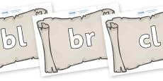 Initial Letter Blends on Scrolls