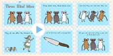 Australia - Three Blind Mice Story PowerPoint
