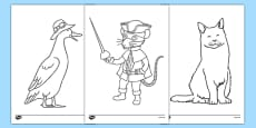 Bandit Rat Themed Colouring Sheets