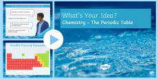 KS3 Periodic Table What's Your Idea? PowerPoint