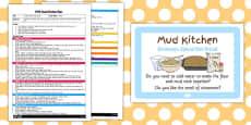 Cinnamon Spiced Mud Bread Mud Kitchen EYFS Planning