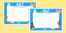 Editable WILF-WALT Display Signs