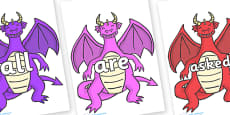 Tricky Words on Dragons (2)