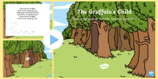 The Gruffalo's Child Song PowerPoint to Support Teaching on The Gruffalo's Child