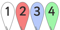 Number Fans (0-9)
