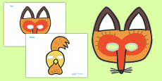 Story Role Play Masks to Support Teaching on Rosie's Walk
