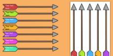 Editable Target Arrows