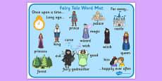Fairy Tale Word Mat