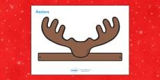 Reindeer Role Play Antlers