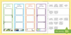 * NEW * Year 1 Australian Curriculum Science Goals Bookmarks