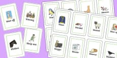 Two Syllable 'BL' Playing Cards