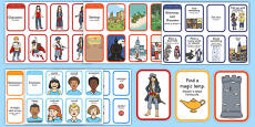 Story Writing Prompt Cards Pack Romanian Translation